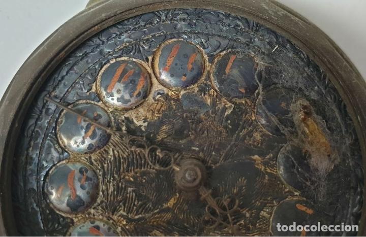 Relojes de bolsillo: RELOJ DE BOLSILLO. MARCA MOERI. TIPO LEPINE. CAJA DE METAL. SIGLO XX. - Foto 7 - 175740762