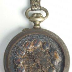 Relojes de bolsillo: RELOJ DE BOLSILLO. MARCA MOERI. TIPO LEPINE. CAJA DE METAL. SIGLO XX. . Lote 175740762