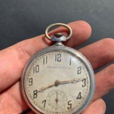Relojes de bolsillo: XIX - RELOJ DE BOLSILLO DE PLATA - MURALTO WATCH CO -. Lote 175765623