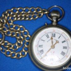 Relojes de bolsillo: ROSKOPF ORIGINAL RELOJ BOLSILLO . Lote 175814102