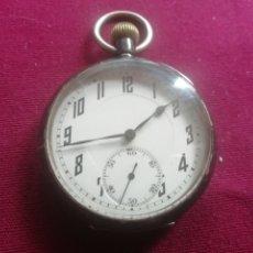 Relojes de bolsillo: RELOJ DE PLATA EN FUNCIONAMIENTO. Lote 175886412