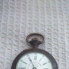 Relojes de bolsillo: ANTIGUO RELOJ DE BOLSILLO SYSTEME ROSKOPF. MILITAR. COMPLETO. Lote 175960478