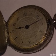 Relojes de bolsillo: ANTIGUO RELOJ BOLSILLO PLATA 800. Lote 176069538