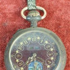 Relojes de bolsillo: RELOJ DE BOLSILLO. SYSTEME BREVETTE. CAJA DE METAL. TIPO LEPINE. SIGLO XIX-XX. . Lote 176081427