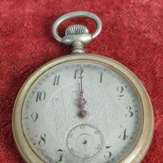 Relojes de bolsillo: RELOJ DE BOLSILLO. HEROIC. CAJA DE METAL. TAPA TRASERA DE NÁCAR. SIGLO XX.. Lote 176089952
