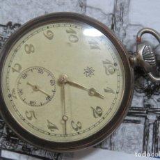 Relojes de bolsillo: BONITO RELOJ DE BOLSILLO DE LA MARCA JUNGHANS ART DECÓ DE LOS AÑOS 30 FUNCIONANDO. Lote 176117195