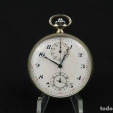 Relojes de bolsillo: RELOJ DE BOLSILLO FRANCES CON FUNCIÓN DE CRONOMETRO. Lote 176204315