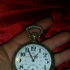 Relojes de bolsillo: GRAN RELOJ DE BOLSILLO REGULATEUR DE CAZADOR. Lote 176234805