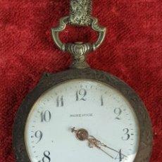 Relojes de bolsillo: RELOJ DE BOLSILLO. NONESUCH. TIPO LEPINE. CAJA DE METAL. SIGLO XX.. Lote 176333779