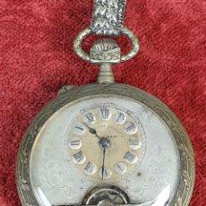 Relojes de bolsillo: RELOJ DE BOLSILLO. TIPO LEPINE. SUPERIOR QUALITY. SWISS MADE. SIGLO XIX.. Lote 176337849