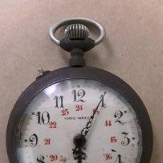 Relojes de bolsillo: RELOJ DE BOLSILLO ANTIGUO,VIRIS WATCH. Lote 176687964