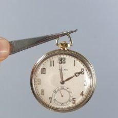 Relojes de bolsillo: RELOJ BOLSILLO EN ORO 750/000 18K VULCAIN MARCADO. Lote 176735825