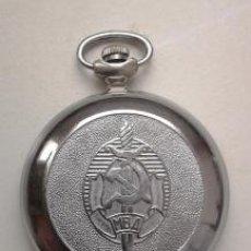 Relojes de bolsillo: RELOJ DE BOLSILLO SOVIÉTICO, MVD, URSS, RUSO. MADE IN URSS. Lote 176779392