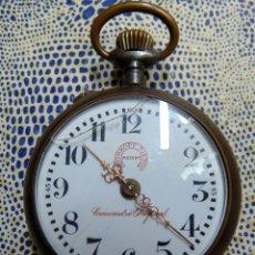 Relojes de bolsillo: ANTIGUO RELOJ ROSKOPF NIETO, FUNCIONANDO, 53 MM, ALGUN DEFECTO MIRAR FOTOS. Lote 176808570