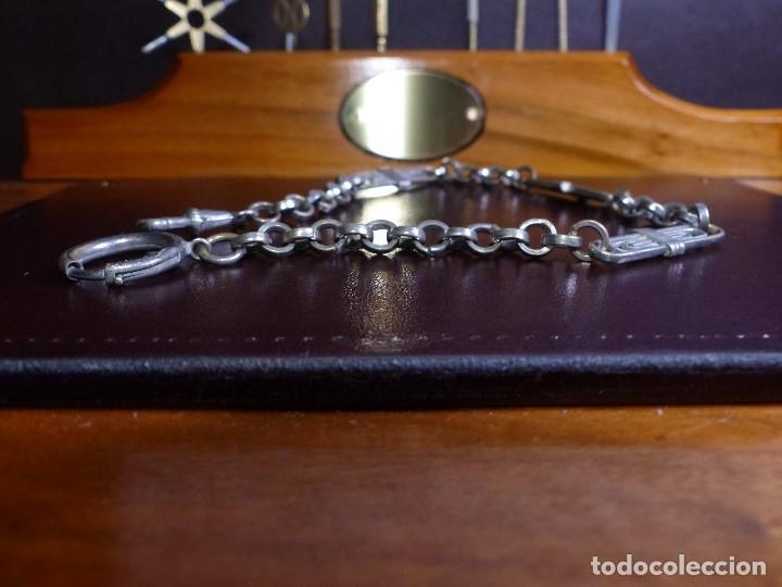 Relojes de bolsillo: CADENA BAÑO DE PLATA, RELOJ DE BOLSILLO - Foto 2 - 176872240