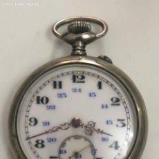 Relojes de bolsillo: RELOJ DE BOLSILLO ARGENTAN DE PLATA VINTAGE. Lote 176883118