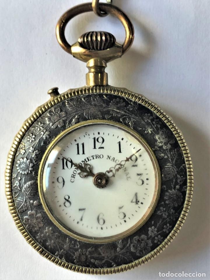 RELOJ DE BOLSILLO CRONOMETRO NACIONAL (Relojes - Bolsillo Carga Manual)