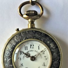 Relojes de bolsillo: RELOJ DE BOLSILLO CRONOMETRO NACIONAL. Lote 176958829