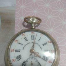 Relojes de bolsillo: RELOJ DE BOLSILLO ROSKOPF CHEMINS DE FER. Lote 177018824