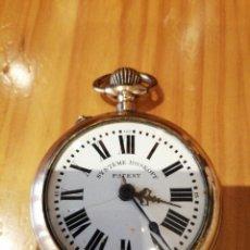 Relojes de bolsillo: RELOJ SISTEMA ROSKOPF FUNCIONANDO. Lote 177044014