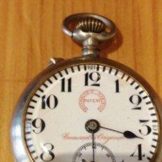 Relojes de bolsillo: RELOJ ROSKOPF NIETO PATENT FUNCIONANDO. Lote 177044220