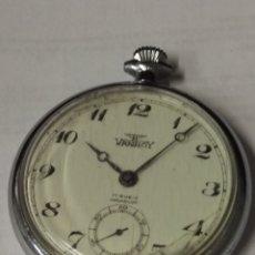 Relojes de bolsillo: RELOJ BOLSILLO VANROY 17 RUBIS INCABLOC. Lote 177298838