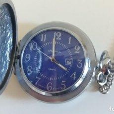 Relojes de bolsillo: RELOJ DE BOLSILLO SOVIÉTICO. URSS. FUNCIONA.. Lote 177622514