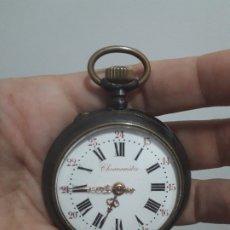 Relojes de bolsillo: RELOJ DE BOLSILLO EN ACERO ROSKOPF. CRONÓMETRO.. Lote 177722052