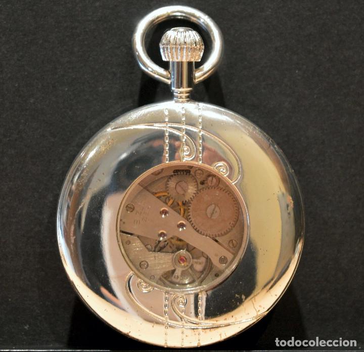 Relojes de bolsillo: BONITO RELOJ DE BOLSILLO CARGA MANUAL Y AUTOMATICO - Foto 3 - 117359603