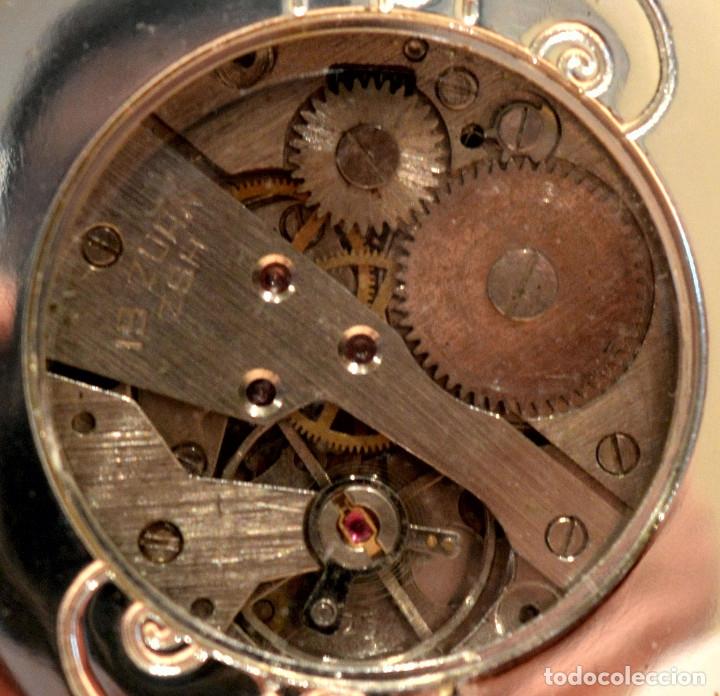 Relojes de bolsillo: BONITO RELOJ DE BOLSILLO CARGA MANUAL Y AUTOMATICO - Foto 4 - 117359603