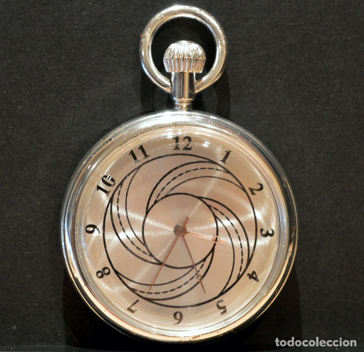 Relojes de bolsillo: BONITO RELOJ DE BOLSILLO CARGA MANUAL Y AUTOMATICO - Foto 2 - 117359603