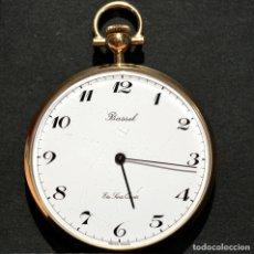 Relojes de bolsillo: RELOJ DE BOLSILLO SUIZO MARCA BASSEL 6 RUBIS SWISS MADE CUARZO. Lote 177759732