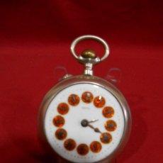 Relojes de bolsillo: RELOJ DE BOLSILLO TIPO ROSKOPF MARCA - META - DIAMETRO 58 MM -. Lote 177938657
