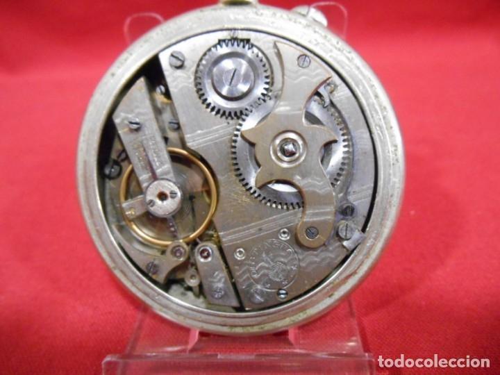 Relojes de bolsillo: RELOJ DE BOLSILLO TIPO ROSKOPF MARCA - META - DIAMETRO 58 MM - - Foto 6 - 177938657