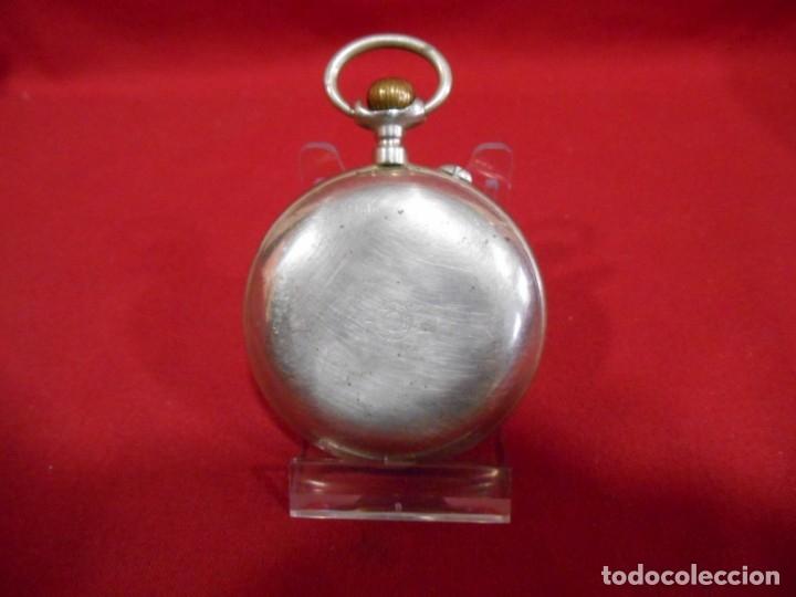Relojes de bolsillo: RELOJ DE BOLSILLO TIPO ROSKOPF MARCA - META - DIAMETRO 58 MM - - Foto 7 - 177938657