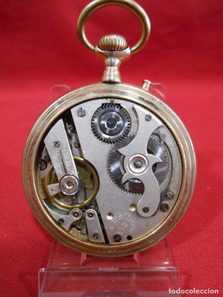 Relojes de bolsillo: RELOJ DE BOLSILLO TIPO ROSKOPF MARCA - DISTINGUO - DIAMETRO 58 MM - - Foto 4 - 177939317