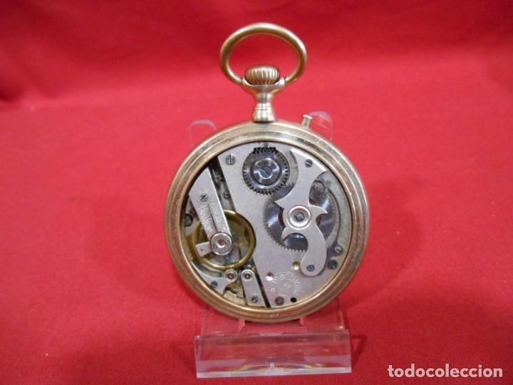 Relojes de bolsillo: RELOJ DE BOLSILLO TIPO ROSKOPF MARCA - DISTINGUO - DIAMETRO 58 MM - - Foto 5 - 177939317