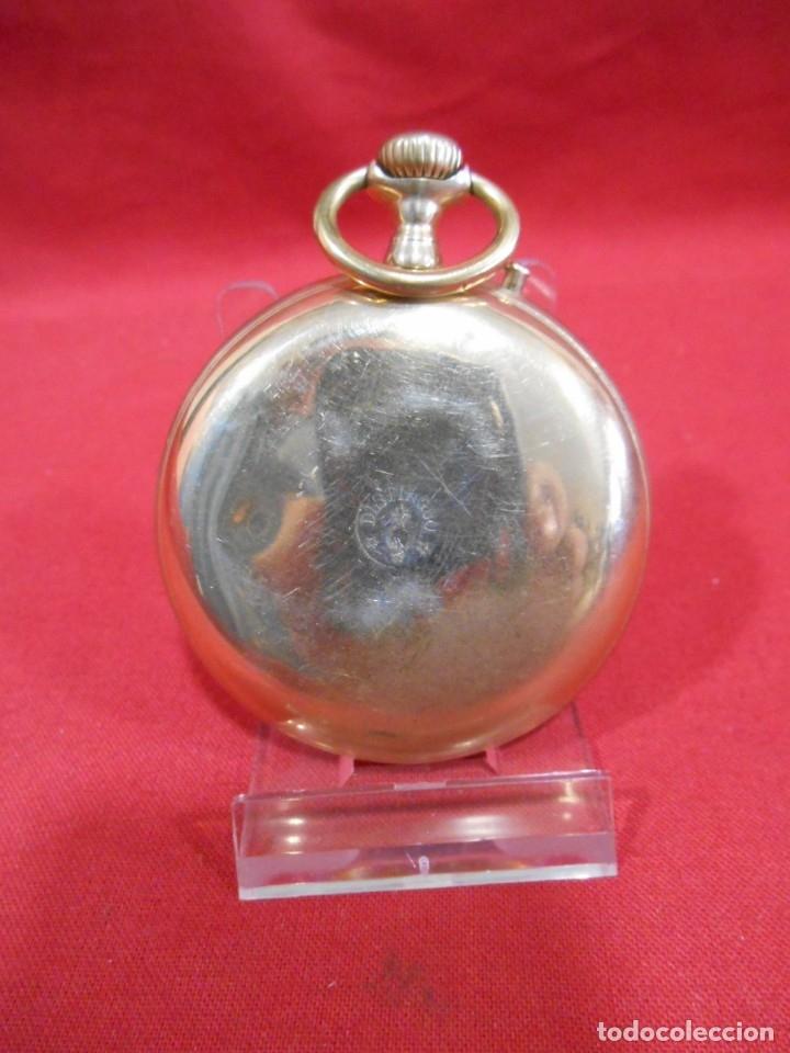 Relojes de bolsillo: RELOJ DE BOLSILLO TIPO ROSKOPF MARCA - DISTINGUO - DIAMETRO 58 MM - - Foto 7 - 177939317