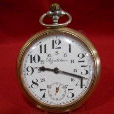 Relojes de bolsillo: RELOJ DE BOLSILLO MARCA - REGULATEUR - GRAN DIAMETRO 60 MM -. Lote 177940823