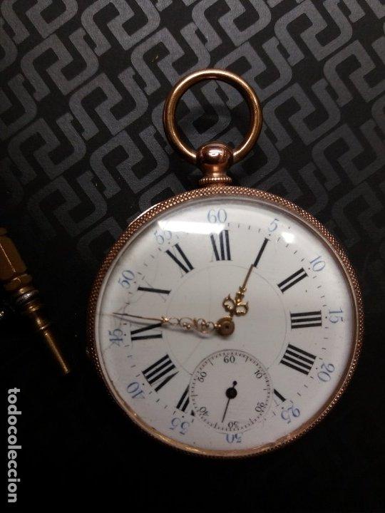 RELOJ BOLSILLO ORO 18K (Relojes - Bolsillo Carga Manual)