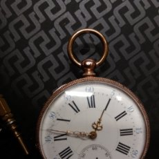 Relojes de bolsillo: RELOJ BOLSILLO ORO 18K. Lote 178008022