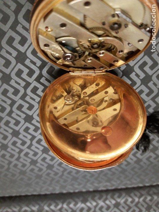 Relojes de bolsillo: Reloj Bolsillo oro 18K - Foto 4 - 178008022