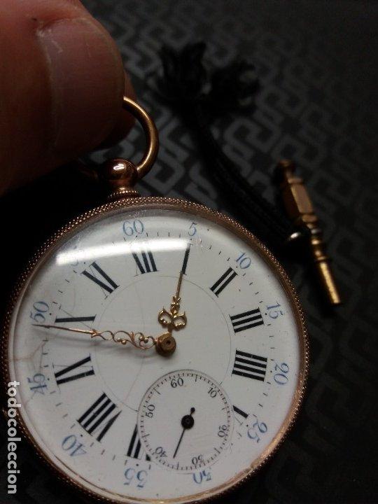Relojes de bolsillo: Reloj Bolsillo oro 18K - Foto 5 - 178008022