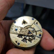 Relojes de bolsillo: BONITA MAQUINARIA DE RELOJ DE BOLSILLO CATALINO ANTIGIO SIGLO XVIII XIX. Lote 178073762