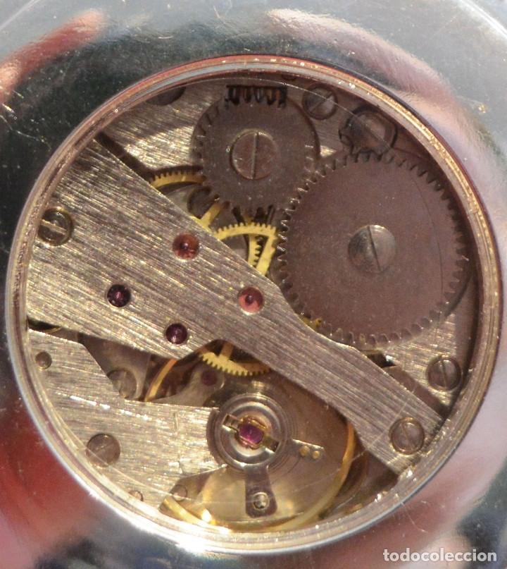 Relojes de bolsillo: EXCELENTE RELOJ DE BOLSILLO SABONETA EN PLATA FASE LUNAR - Foto 7 - 53480734