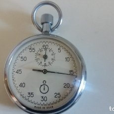 Relojes de bolsillo: ANTIGUO CRONÓMETRO DE CUERDA DE PRECISIÓN. URSS. RUSO. FUNCIONA. . Lote 178271963