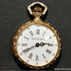 Relojes de bolsillo: RELOJ DE BOLSILLO MINIATURA THERMIDOR CARGA MANUAL MAQUINARIA SUIZA. Lote 178299747