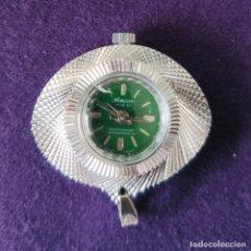 Relojes de bolsillo: RELOJ DE ENFERMERA DE CARGA MANUAL AMICO. SWISS MADE. FUNCIONA PERFECTAMENTE.. Lote 214763090