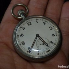 Relojes de bolsillo: ESCASO RELOJ REVUE MILITAR CALIBRE 30 SWISS MADE 2ª GUERRA MUNDIAL MARCAJE GSTP BRAVINGTONS. Lote 178369721