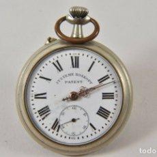 Relojes de bolsillo: ANTIGUO RELOJ SISTEMA ROSKOPF FUNCIONANDO PERFECTO. Lote 178740772